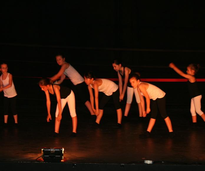 Ballet Moderno infantil