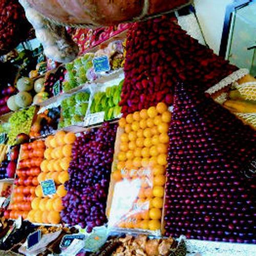 Tiendas de frutas en Madrid centro