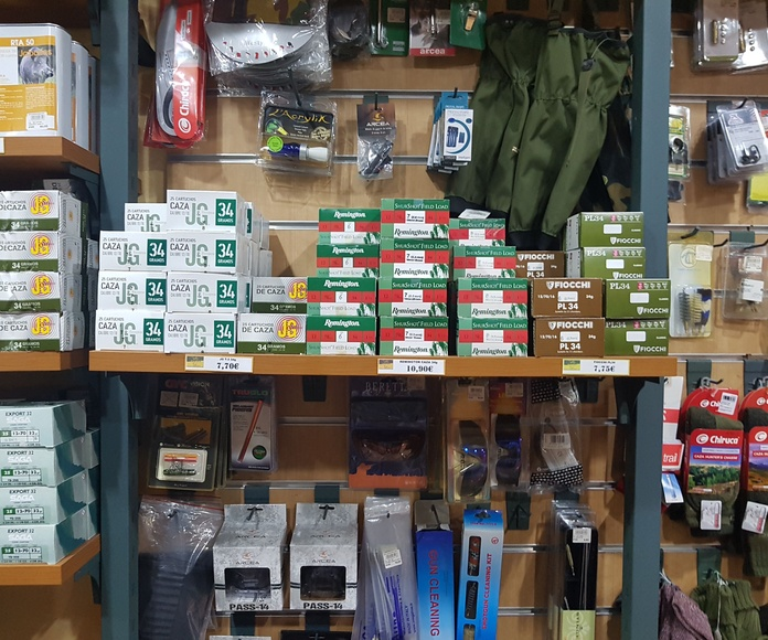 Cartuchería: Productos y Servicios de Armería Ondara
