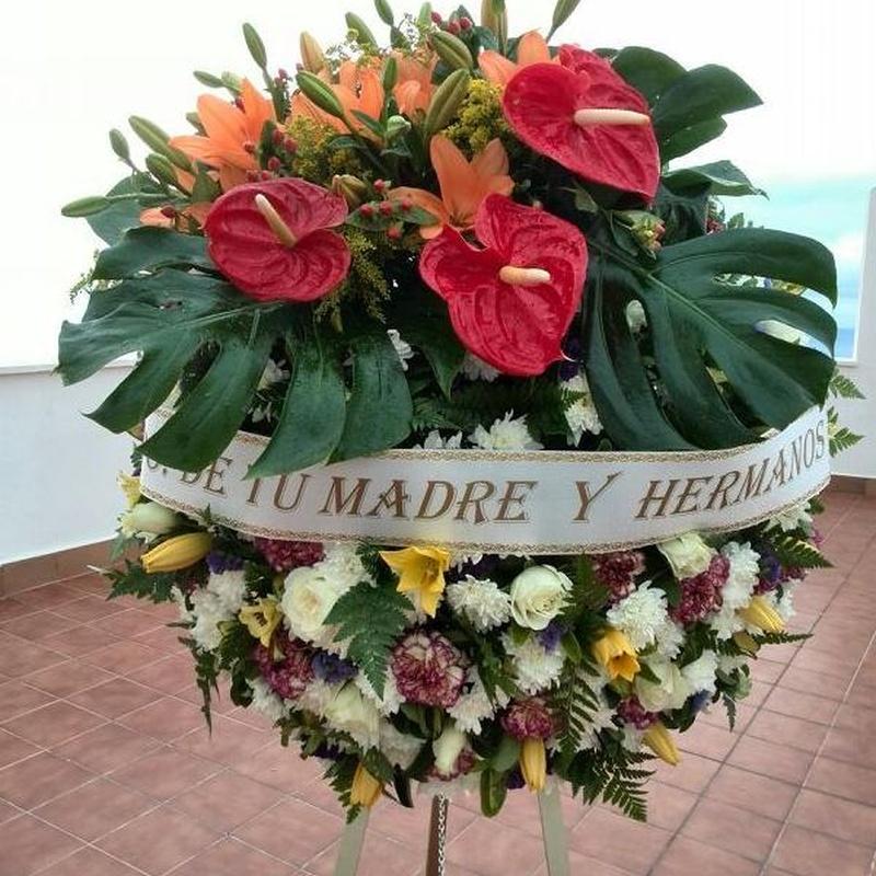 Corona Ref: 09: Productos y servicios de Funeraria El Platero