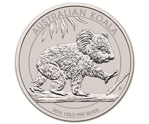 Moneda de 1 kilo de plata
