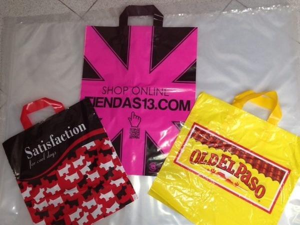 Bolsa asa lazo: Productos de Plásticos Yolanda