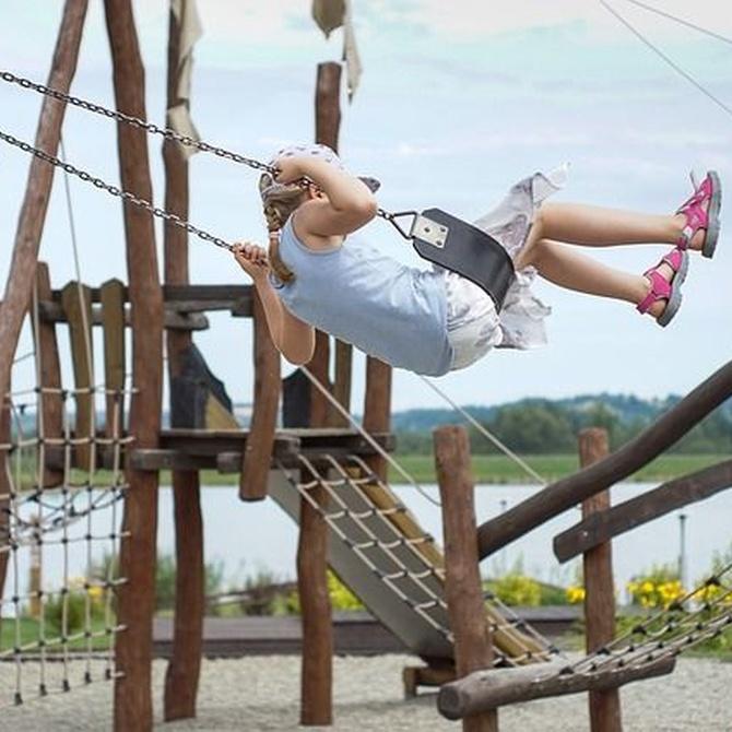 Ocio al aire libre para fomentar la creatividad de los niños