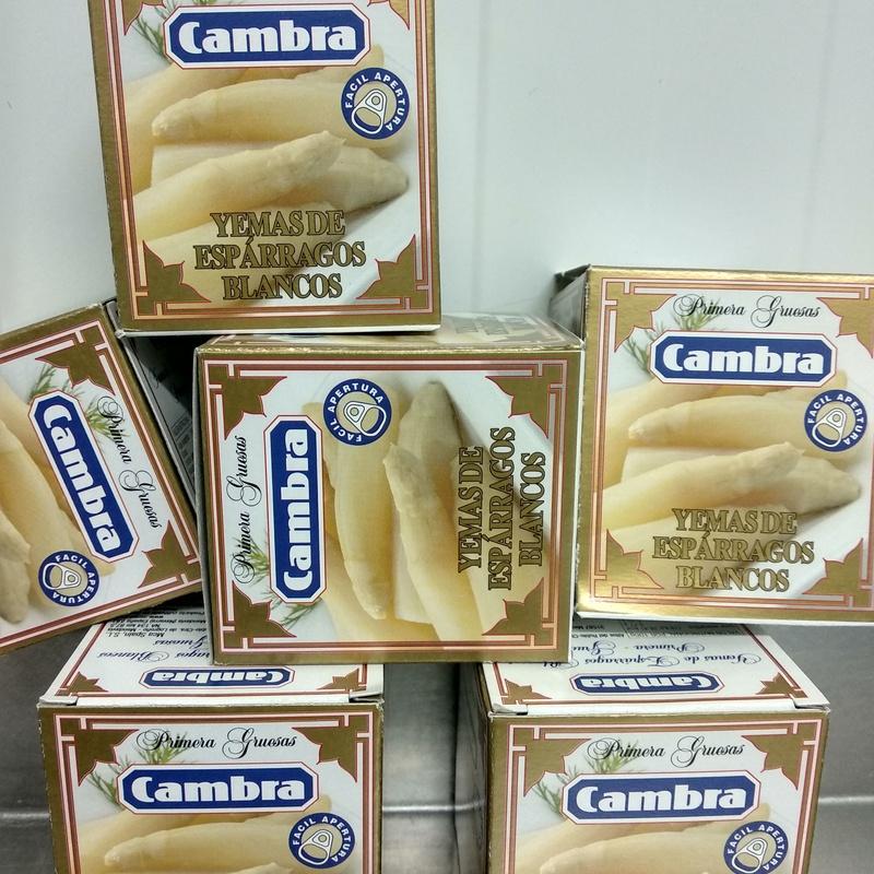 Yemas Cambra: Nuestros productos de Bodega Cabria