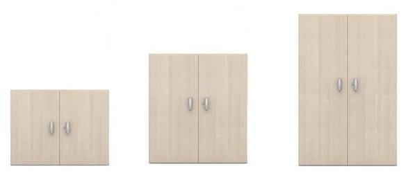 armarios oficina con puertas, cerradura en 3 alturas diferentes
