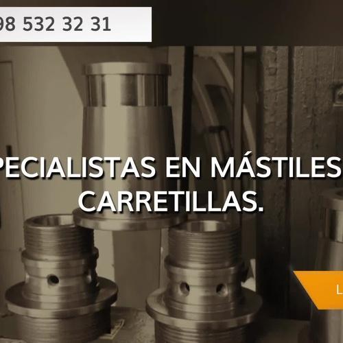 Mecanizados industriales en Gijón | Mecanizados Díaz & Díaz