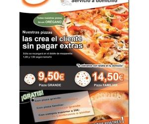 Ofertas pizzas y empanadas a domicilio