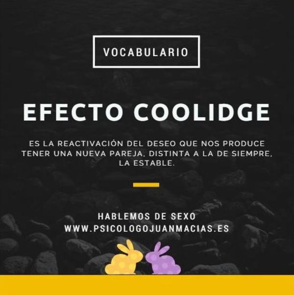 EFECTO COOLIDGE