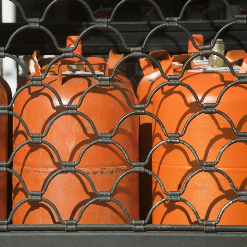 Venta de butano: Productos y servicios  de Estación de Servicio Solbas