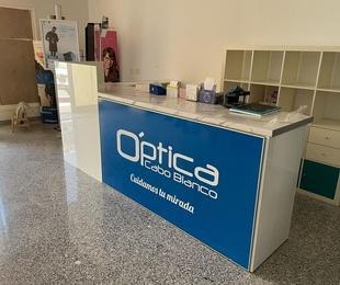 Proyecto de decoración de Óptica en Tenerife