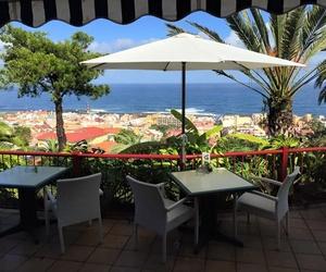 Restaurante con vistas al mar en Puerto de la Cruz