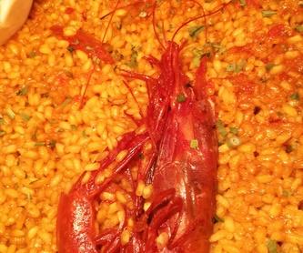 ENSALADAS: Oferta Gastronómica de Gastrobar/Restaurante Los Molinos