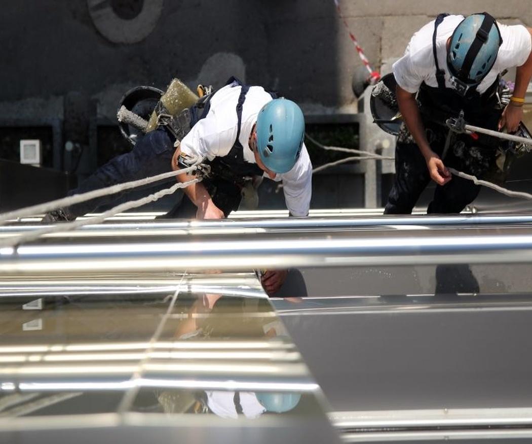 La escalada, una pasión común en el sector de los trabajos verticales