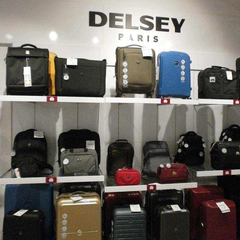 Maletas y artículos de viaje Delsey