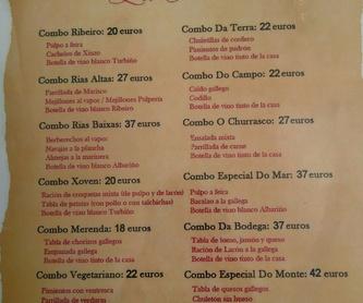 Bocadillos y Desayunos: Carta de La Pulpería, S.L.