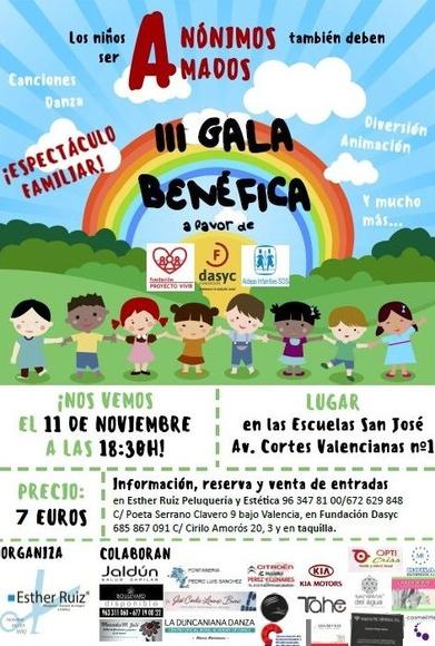 III Gala Benéfica a favor de los niños!!
