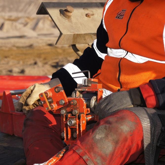 La seguridad en el uso del chorro de arena