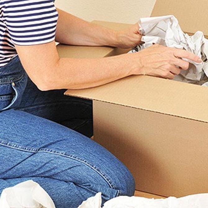 Embalando objetos frágiles