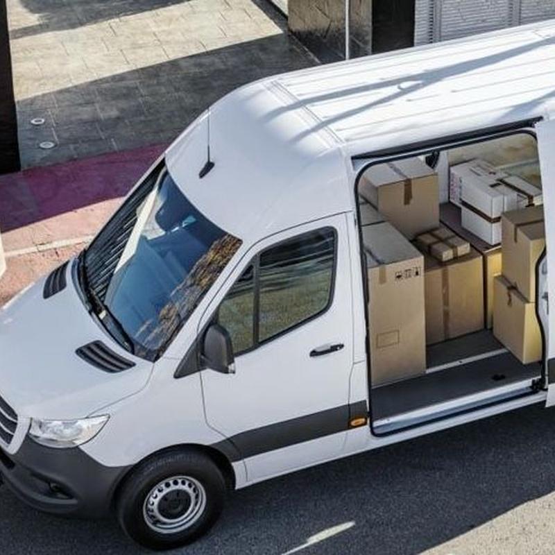 Furgoneta Mercedes Sprinter: Alquiler de vehículos de Altiplano Rent a Car