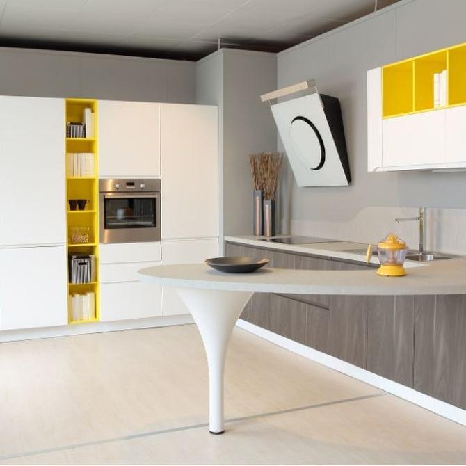 Atrévete con los colores en tu cocina