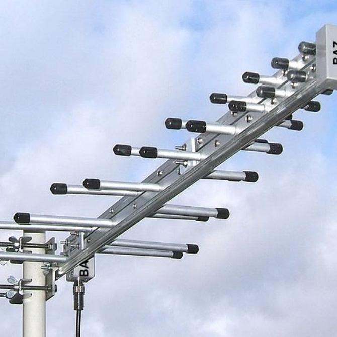 Las partes de una antena
