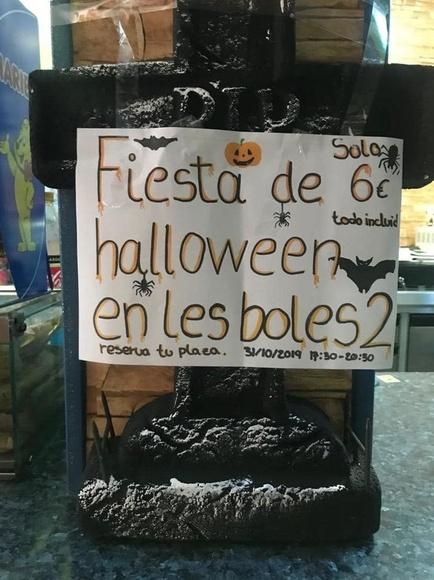 Halloween 2019 llega a Les Boles 2