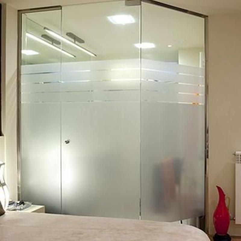 Puertas correderas o abatibles de cristal: Productos y servicios  de Cristalería eki