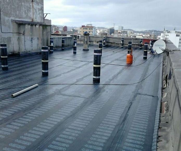 colocacion de tela asfaltica asturias