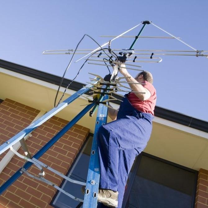 Precauciones necesarias para la instalación de una antena (II)