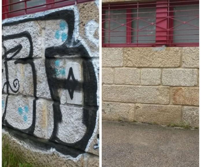 MARODRI Limpieza de graffitis en Vigo