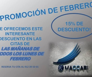 Promoción en Febrero