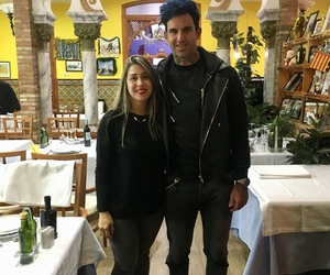 Josef Ajram came to visit our restaurant specialising in rice in Valencia