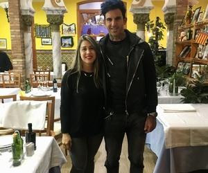 Josef Ajram estuvo visitándonos en nuestro restaurante arrocería en Valencia