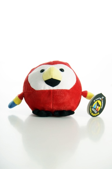 Pelota Loro Rojo / Red Parrot Ball: Productos de BELLA TRADICION