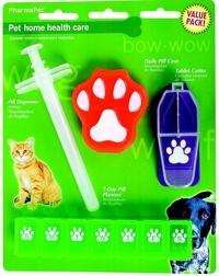 Pack de cuidado médico para mascotas Petcare