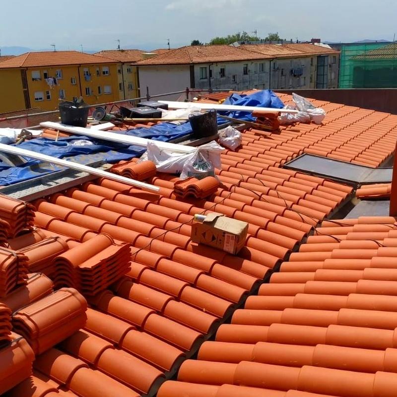 Rehabilitación de cubierta en Santander.