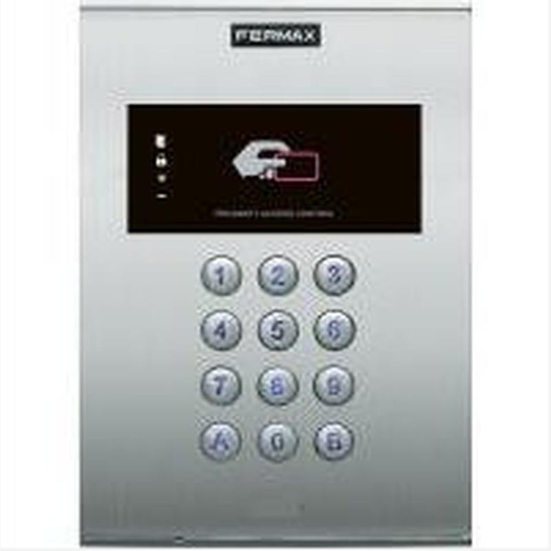 Instalaciones de control de acceso: Catálogo de Electrónica Neurketa
