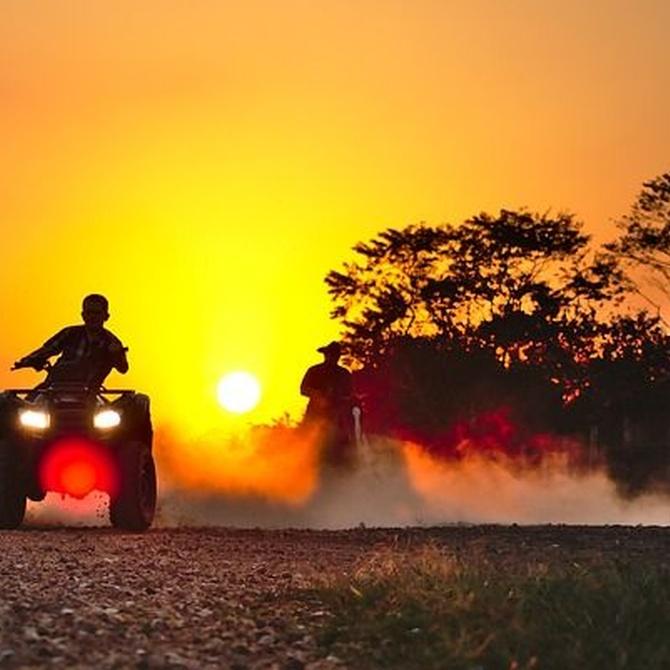 Cómo sobrevivir a una ruta de quad en verano