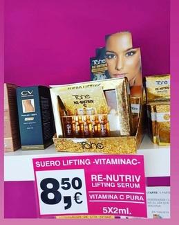 Suero lifting -Vitamina C