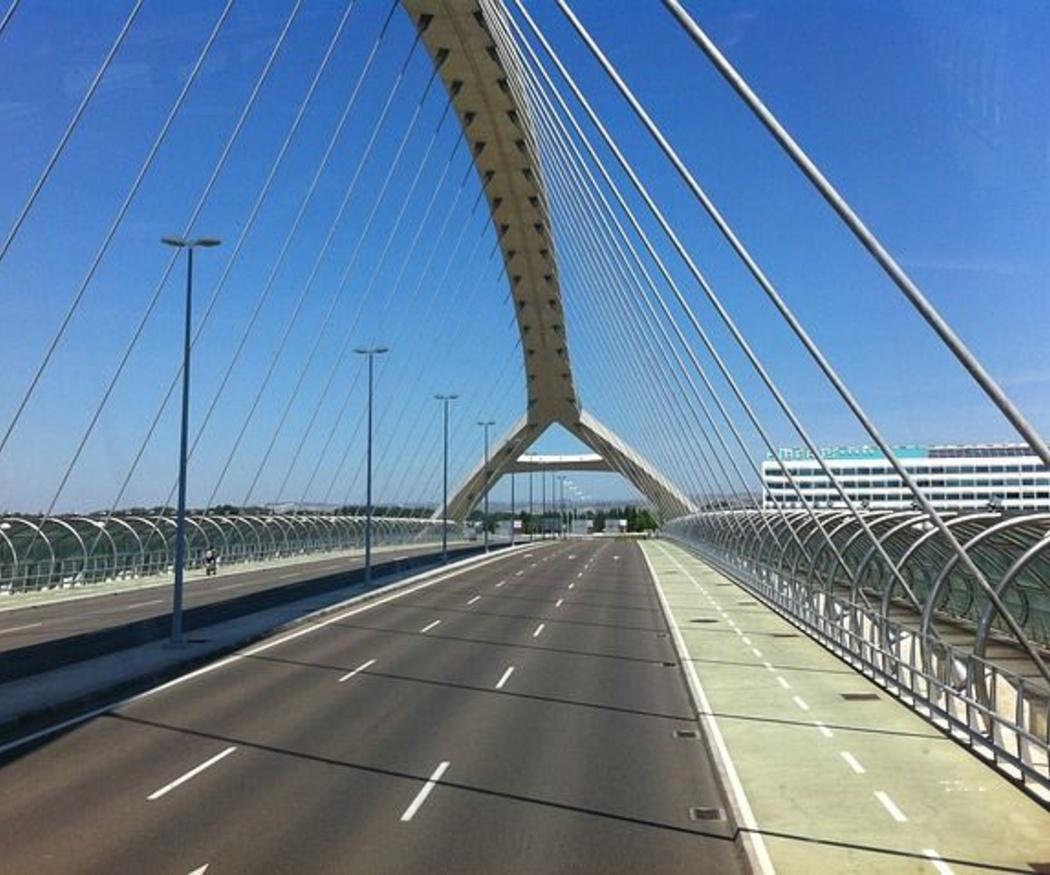 Estructuras metálicas: el puente de hierro de Zaragoza