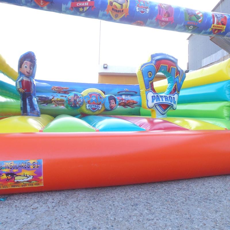 Castillo hinchable plataforma 10: Catálogo de Hinchables Happy Jump