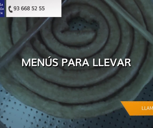 Comida preparada para llevar en Molins de Rei | Churrería Rostissería La Granja, S.L.