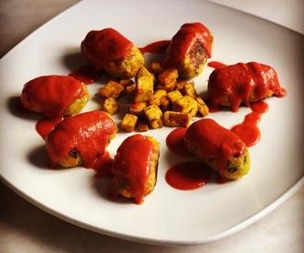 Menú de fin de semana: Carta de Restaurante Vegetariano La Retama