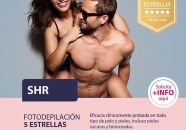 SHR: Fotodepilación Médica