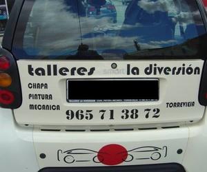 Galería de Talleres de chapa y pintura en Torrevieja   Talleres La Diversión