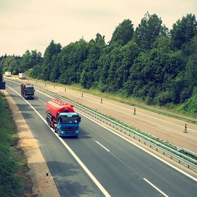 Transporte de residuos con camión cisterna