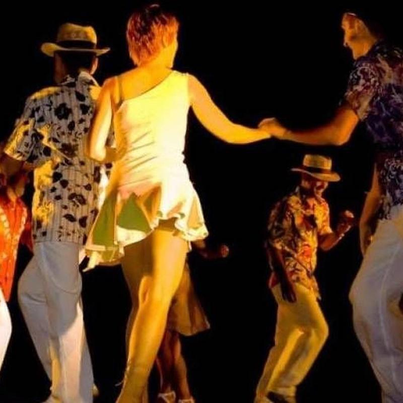 Rueda cubana: Nuestras Clases de Bailes de Salón Daniel Sáez