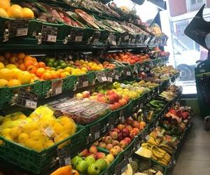 Frutas y verduras frescas en Atocha