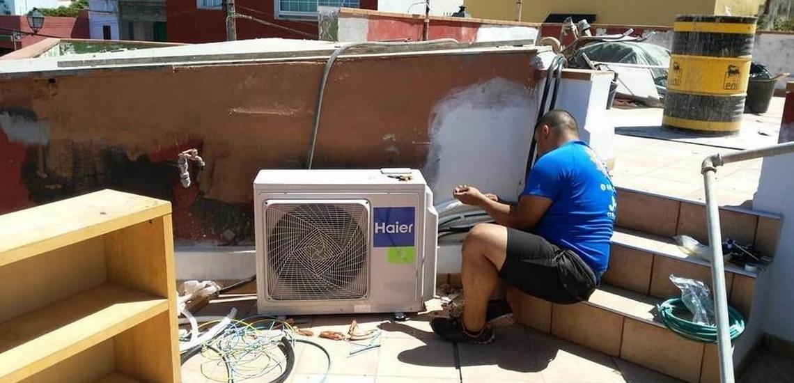 Reparación de aire acondicionado y mantenimiento de frío industrial en Tenerife