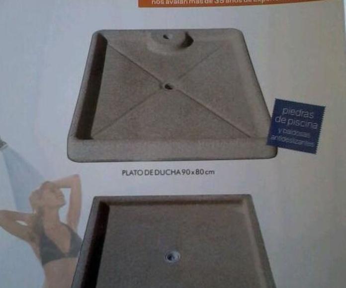 Plato de Ducha : Productos y Servicios de Bordes de Piscinas J. Antonio Alonso